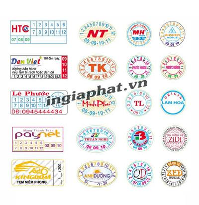 Tem bể bảo hành| ingiaphat.vn