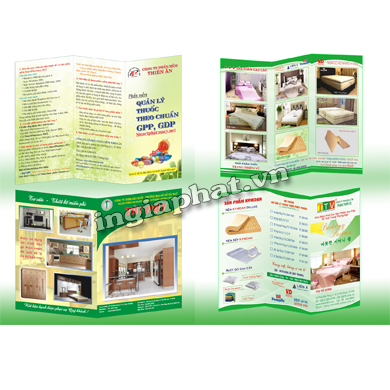 In tờ rơi roi A3, giấy couche 150gsm| ingiaphat.vn