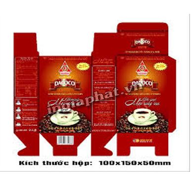 In hộp giấy ofset 4 màu, giấy Duplex 300gsm, cán màng bóng| ingiaphat.vn