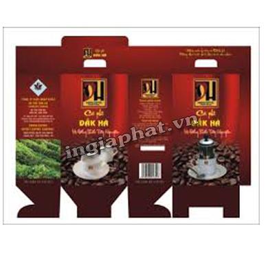 In hộp giấy ofset 4 màu, giấy Duplex 350gsm, cán màng mờ| ingiaphat.vn