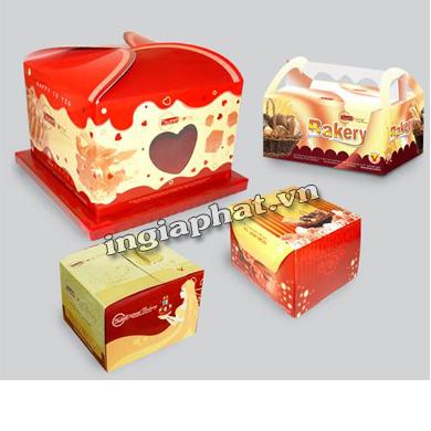 In hộp giấy ofset 3 màu, giấy Duplex 200gsm, cán màng mờ| ingiaphat.vn